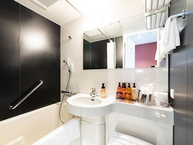 【銀座】日和ホテル東京銀座EAST バスルーム
